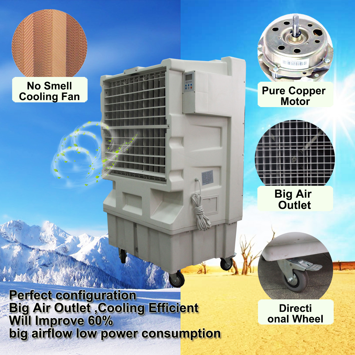 Air Cooling System Industrial Portable Outdoor Indoor