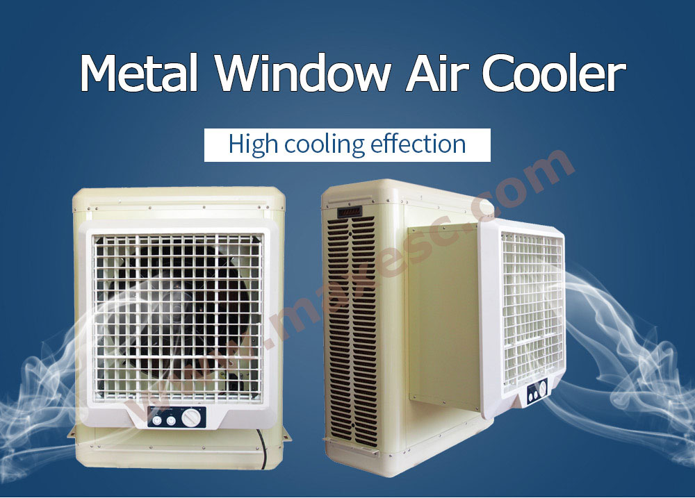 Window Evaporative Air Cooler Metal Body Air Cooler Max