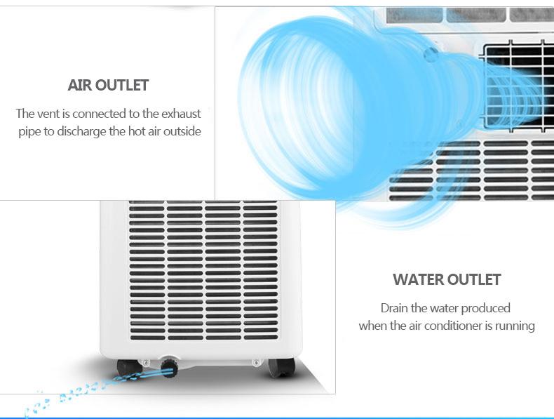 Portable Air Conditioner 7000 Btu Portable Air Conditioner